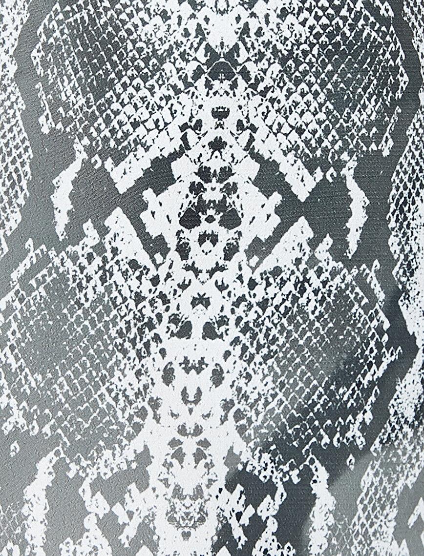 Snake Patterned Pyjama Bottom