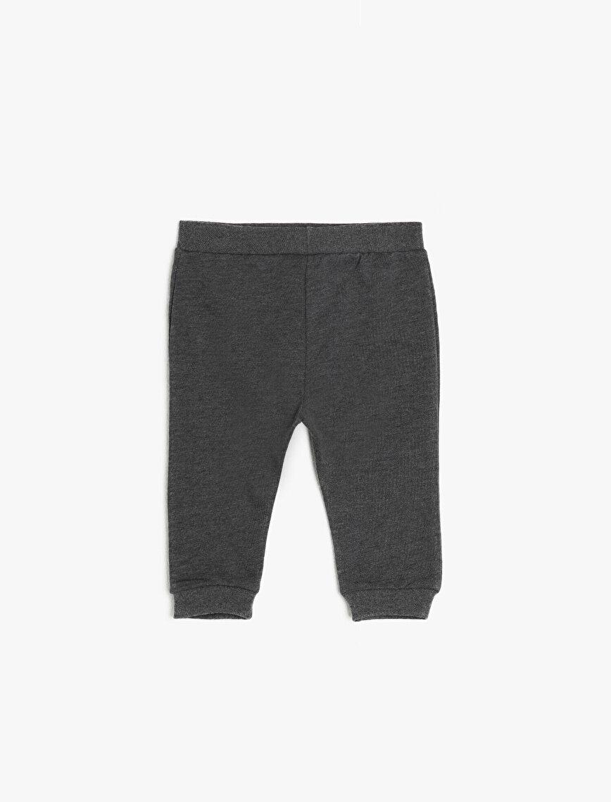 Medium Rise Joggings Pants