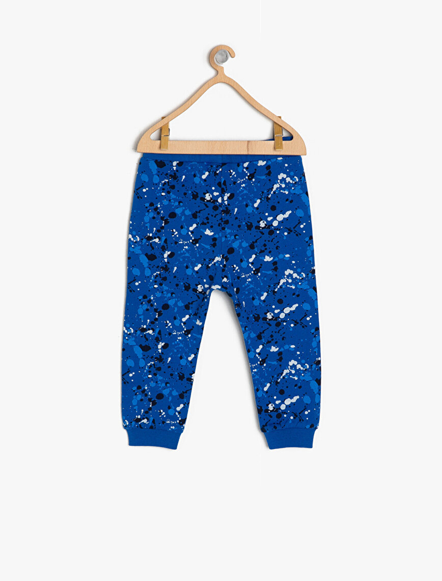 Patterned Joggings Pants