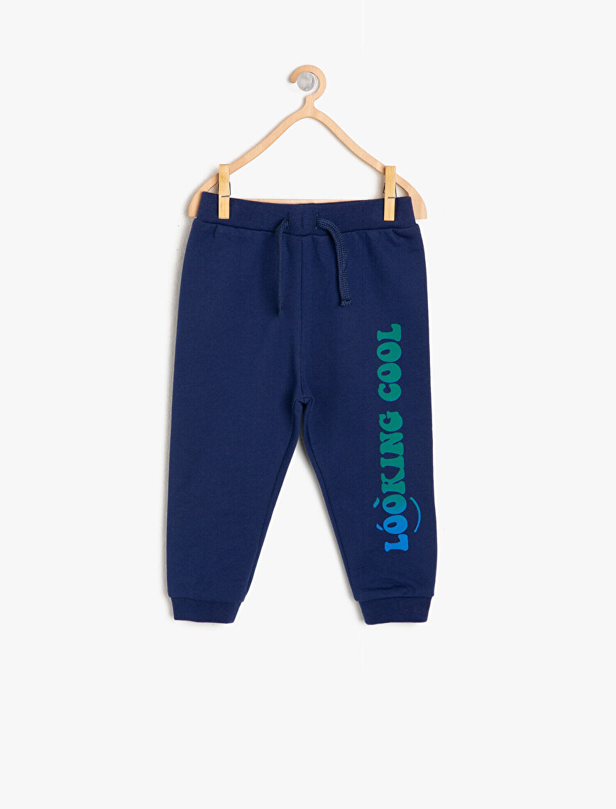 Letter Printed Joggings Pants