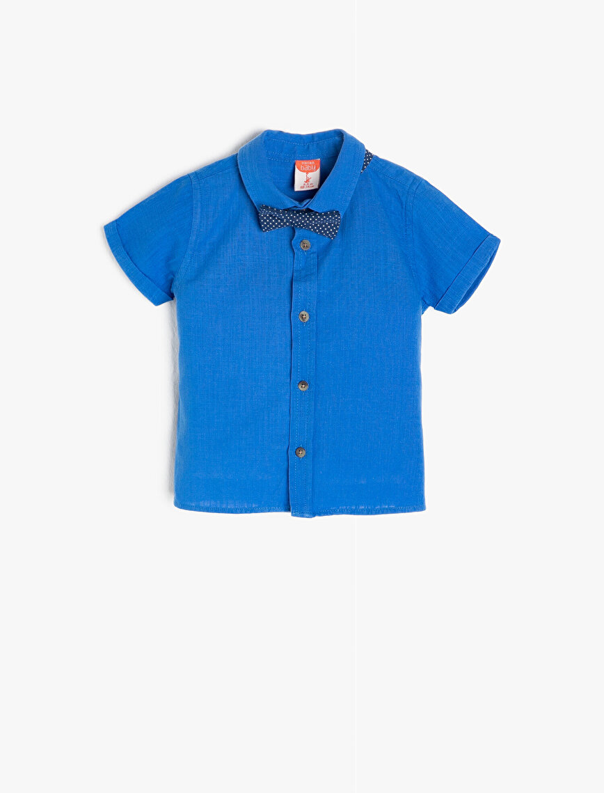 Bowties Detailed Shirt