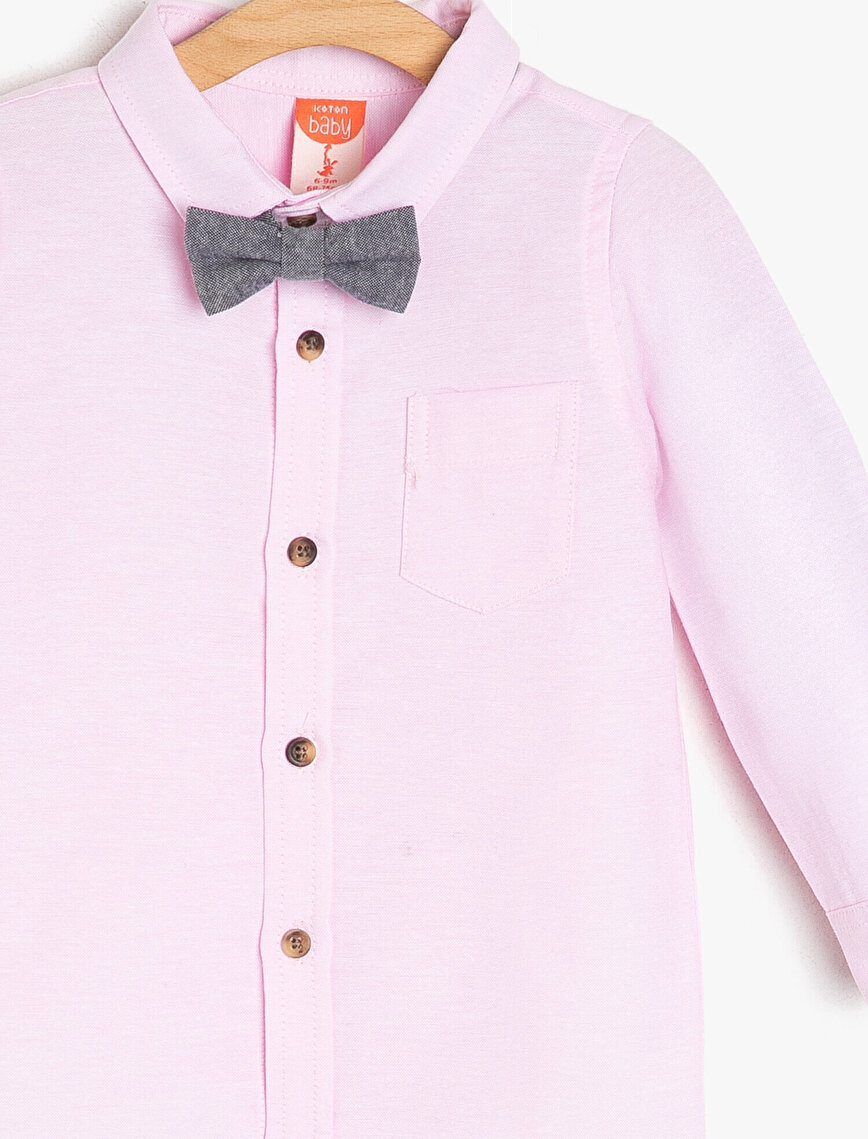 Bowties Detailed Shirt