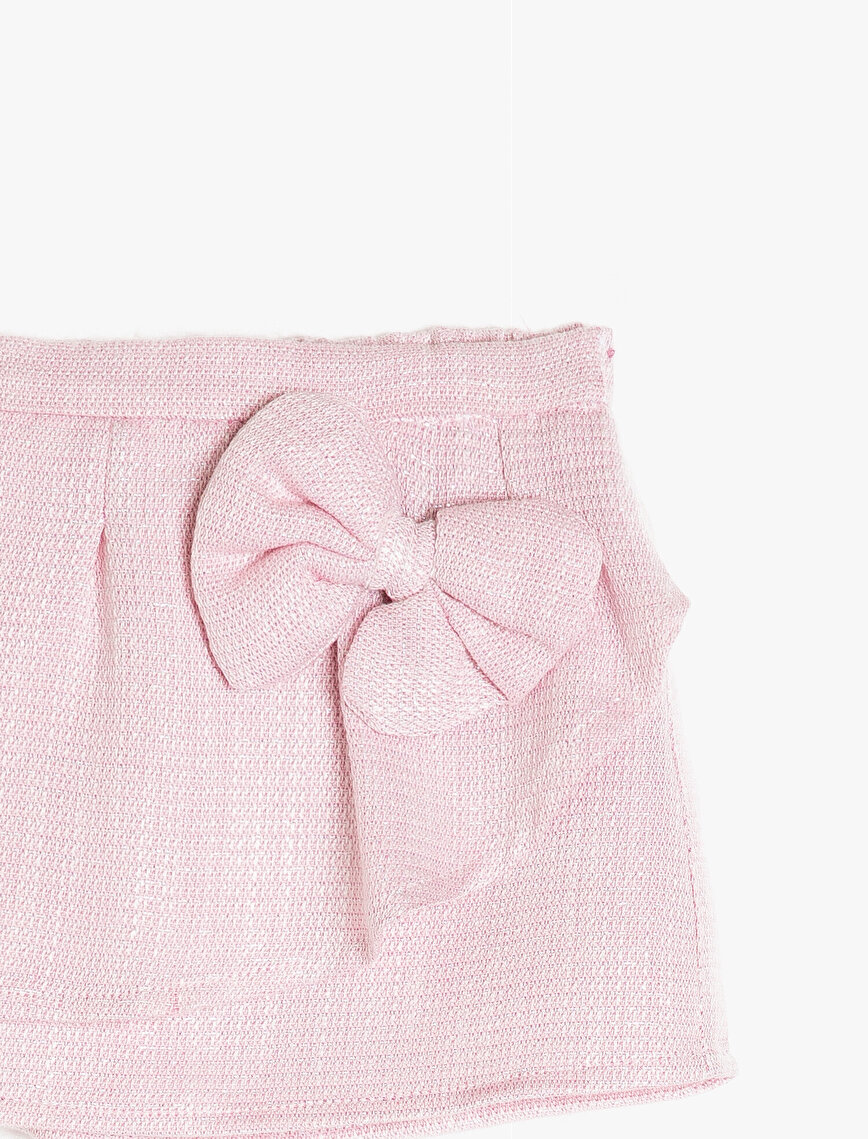 Bow Detailed Skirt