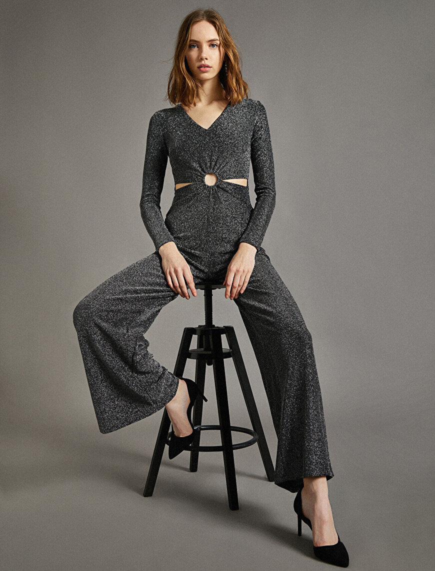 Drow String Jumpsuit