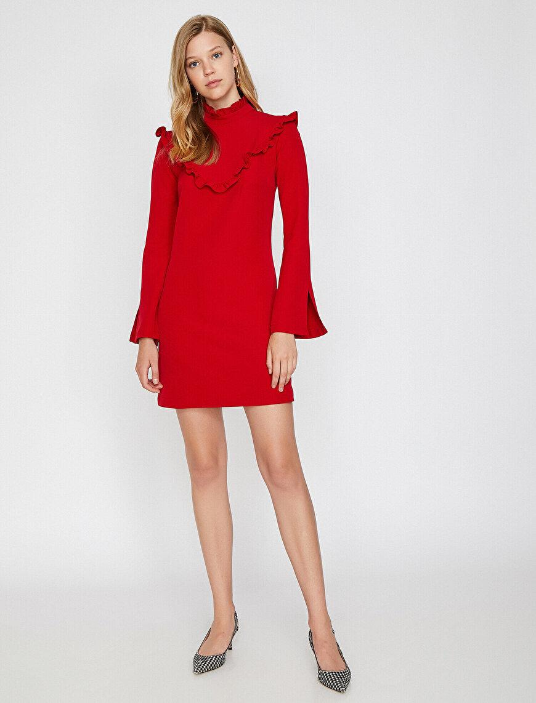 Frill Detailed Dress