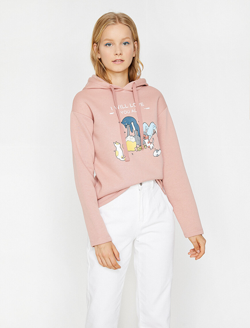Koton Love Sweatshirt