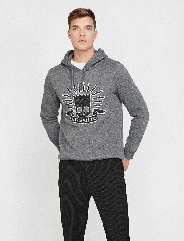 Simpsons Lisanslı Baskılı Sweatshirt