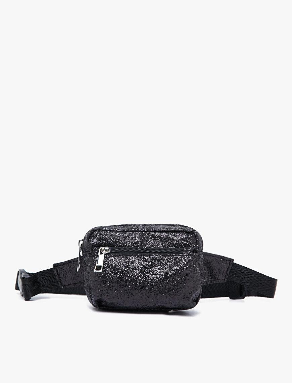 Zipper Detailed Belt Bag
