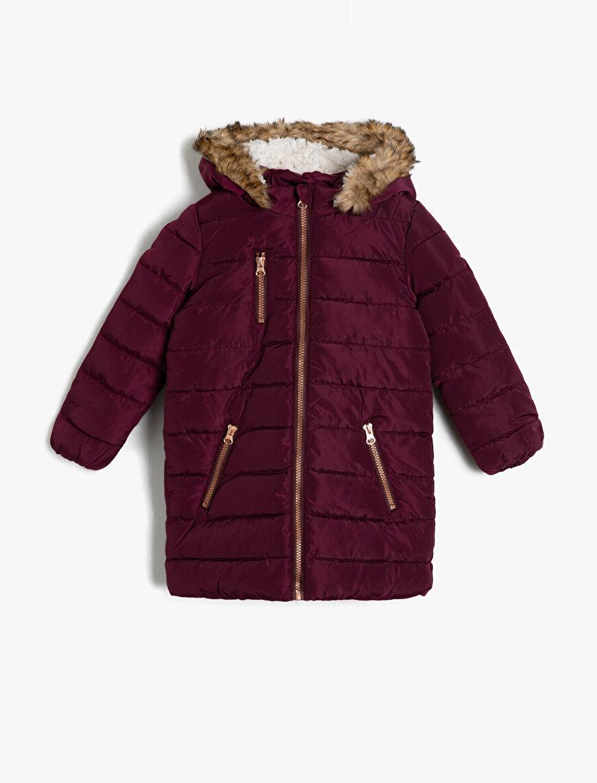 Faur Fux Detailed Puffer Coat