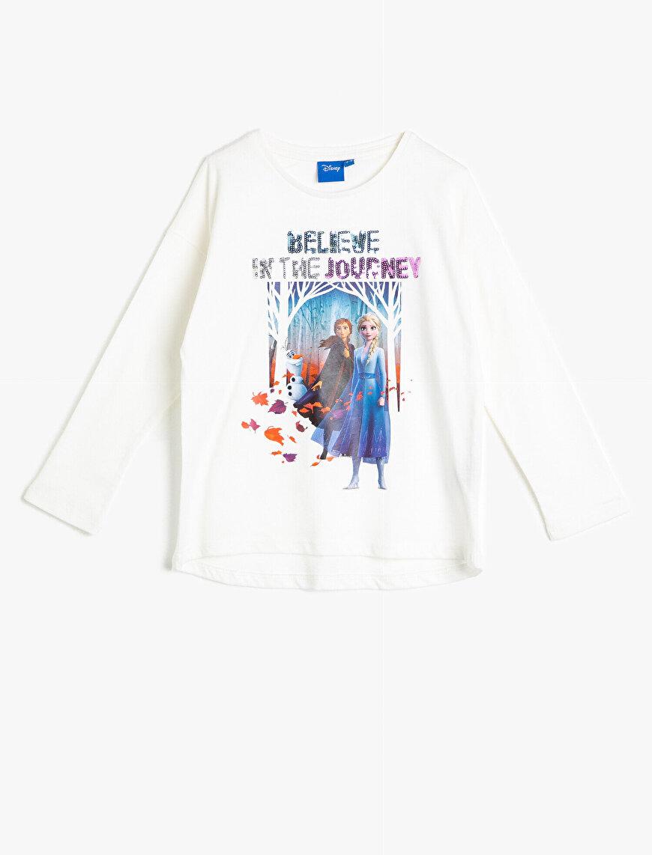 Frozen Lisanslı Baskılı T-Shirt