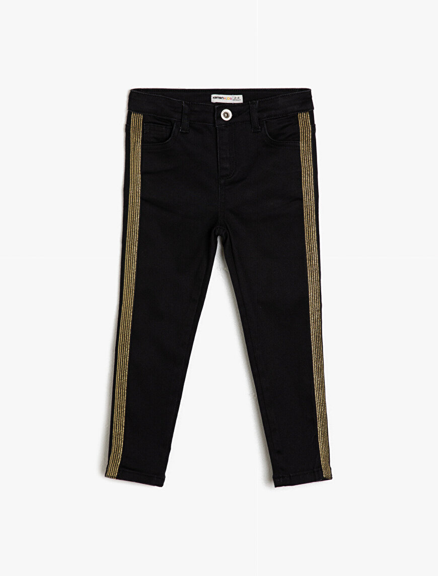 Banded Detailed Jeans