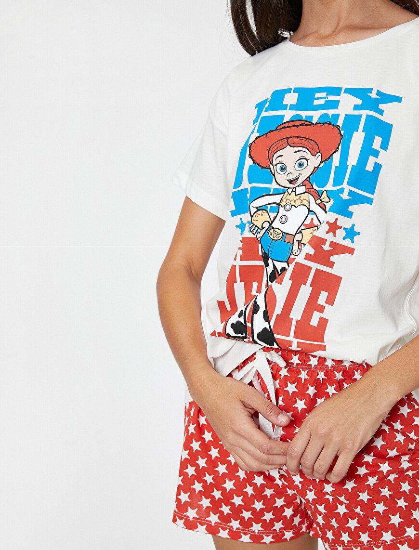 Disney Lisanslı Baskılı Pijama Takımı