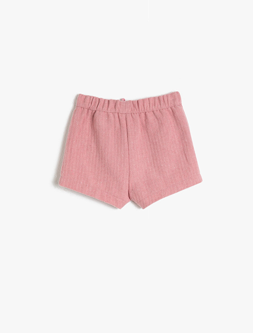 Frill Detailed Shorts