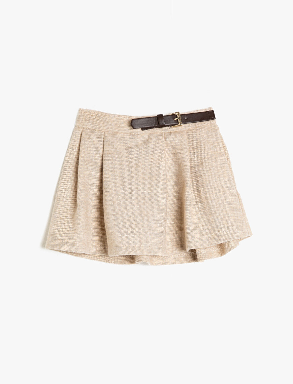 Belt Detailed Skirt