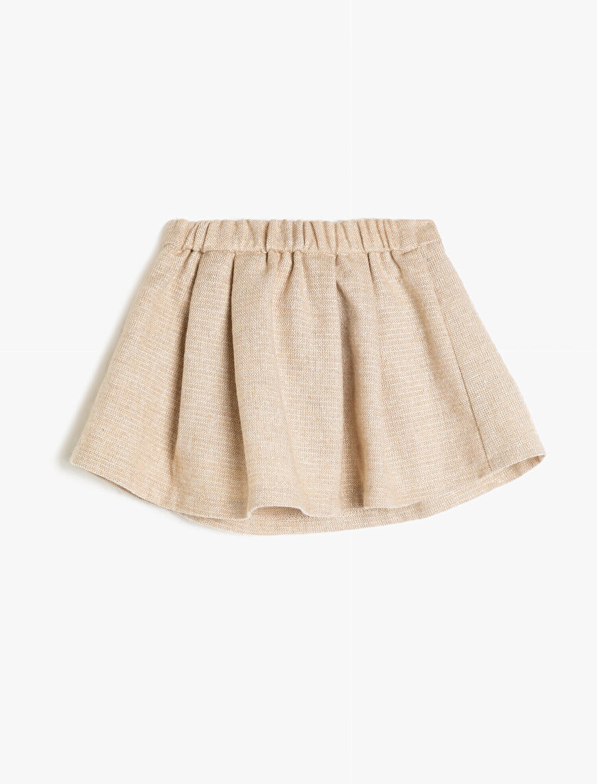 Belt Detailed Skirt