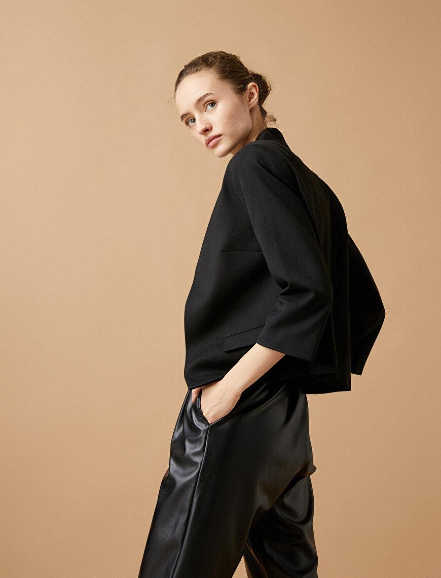 Basic Blazer Ceket