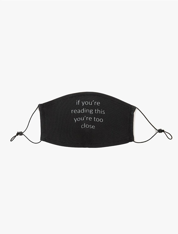 Yazılı Baskılı Yıkanabilir Maske