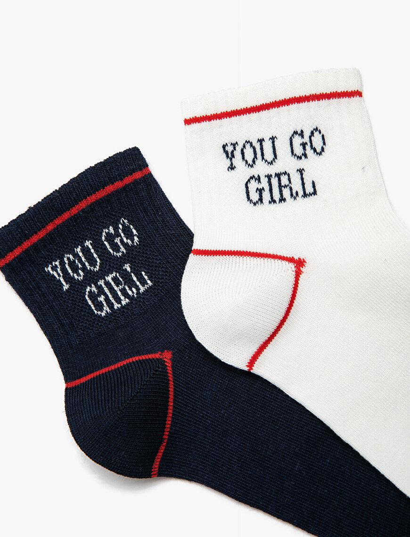 2'li Kadın Çorap