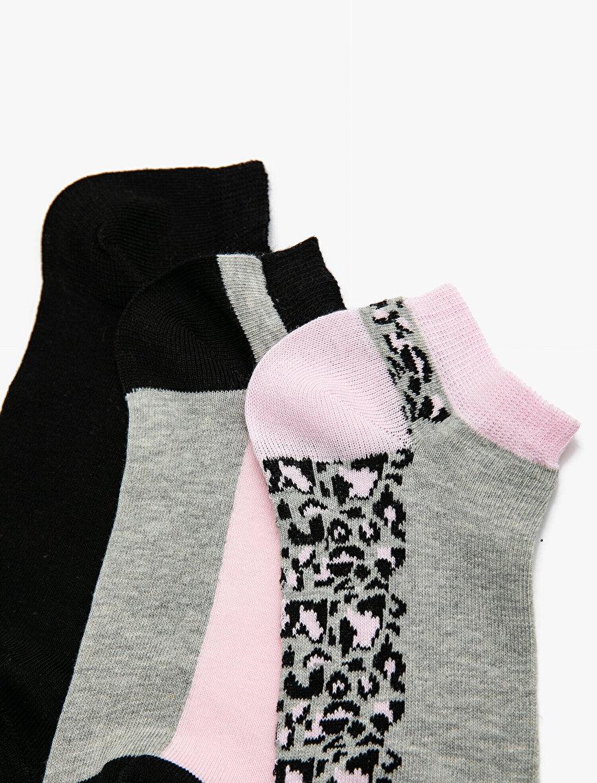 3'lü Kadın Çorap