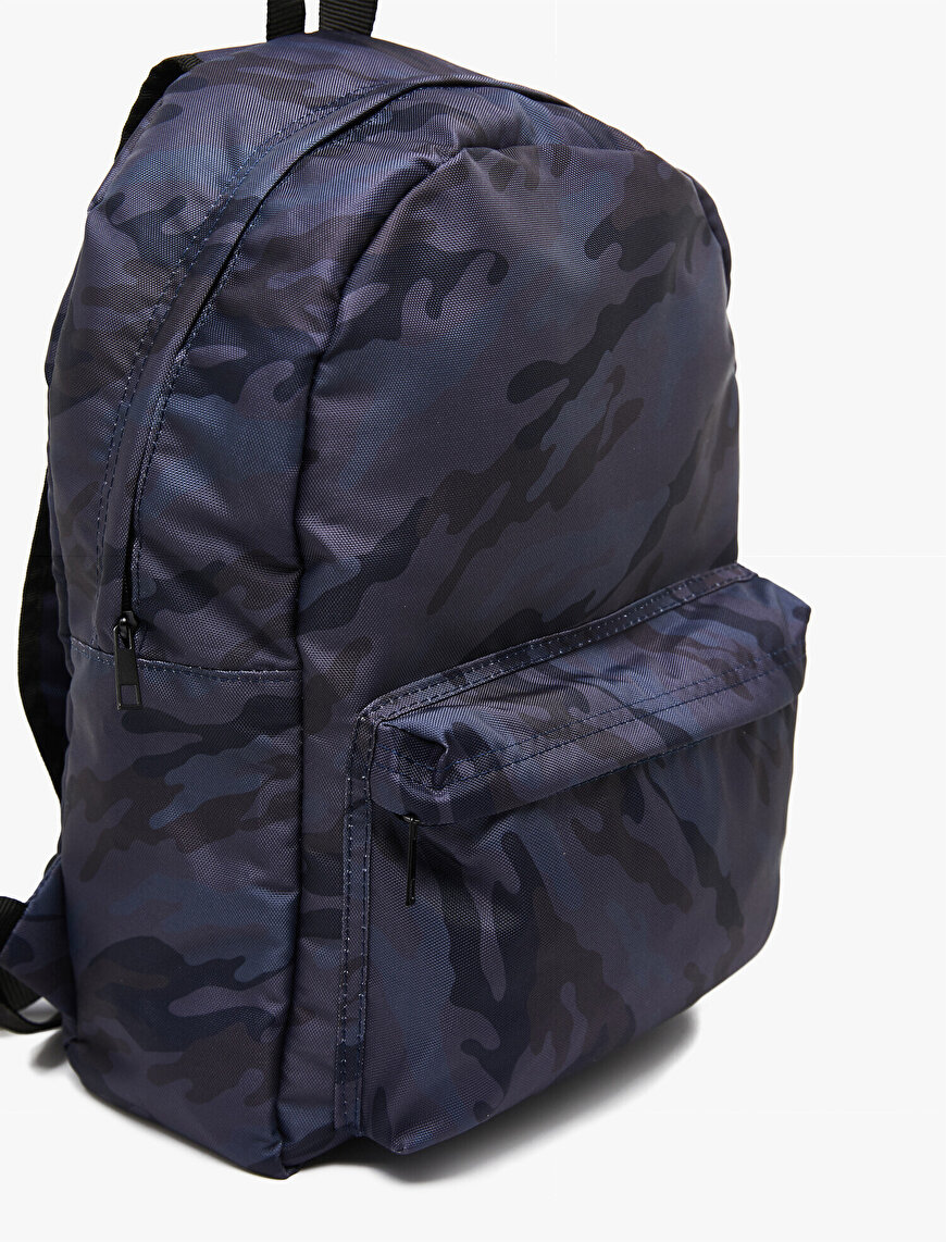 Camouflage Patterned Backpack