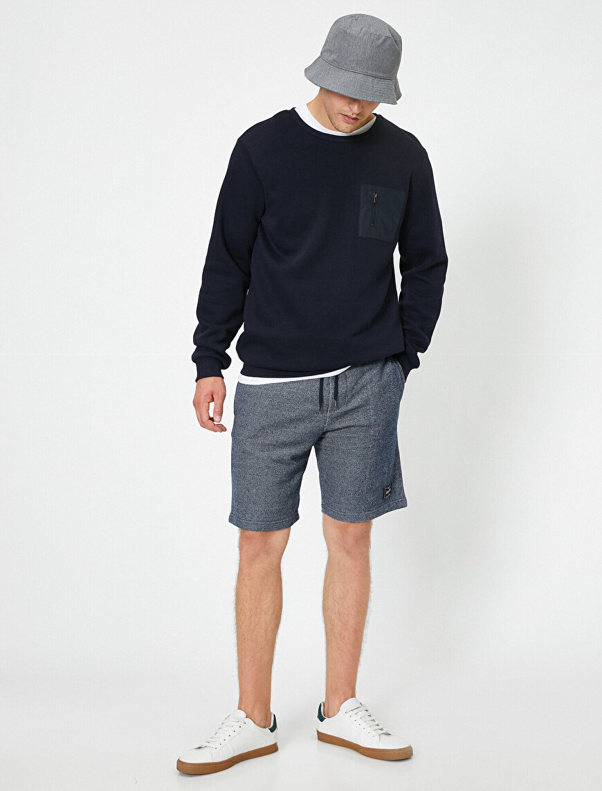 Jersey Shorts With Pockets
