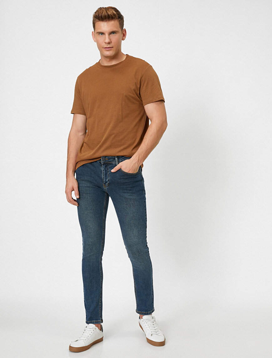Pocket Skinny Jeans