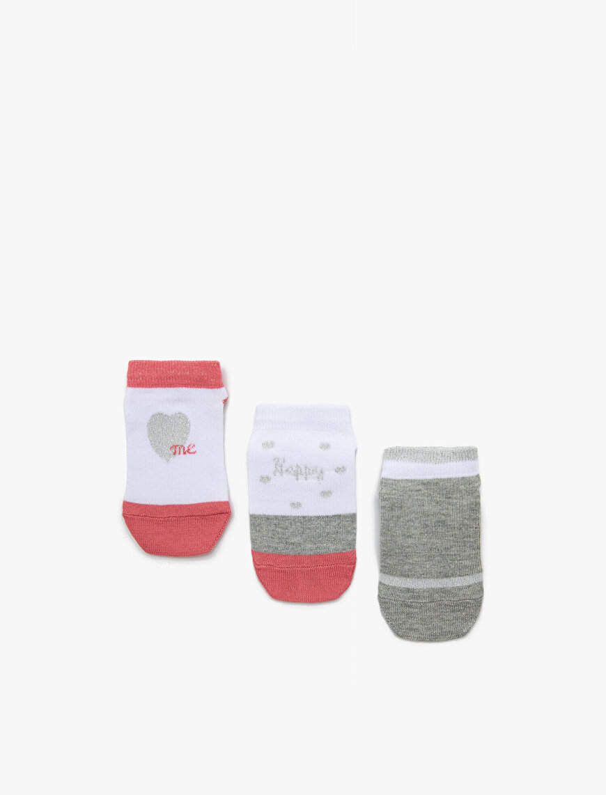 3 Pack Girls Socks