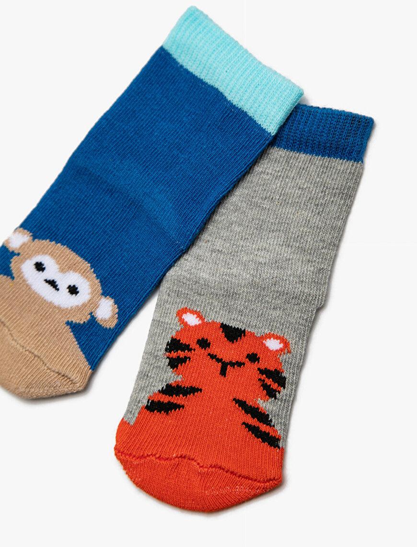 2 Pack Baby Boy Socks