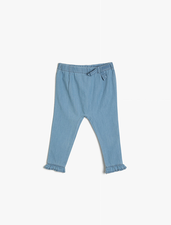 Fırfır Detaylı Pantolon