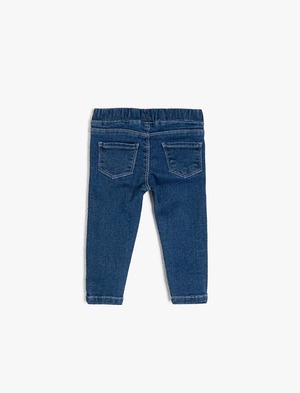 Heart Shape Detailed Jeans