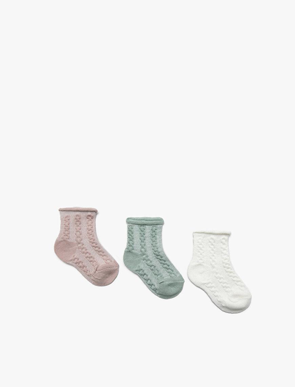 3 Pack Baby Girl Socks