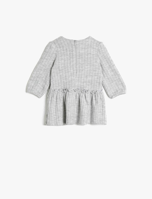 Yazılı Baskılı Elbise