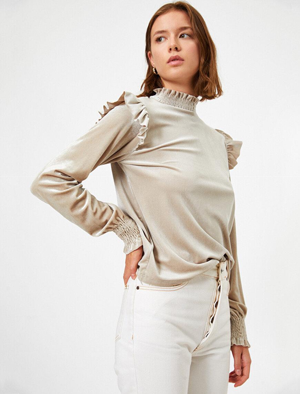 Turtleneck Long Sleeve T-Shirt