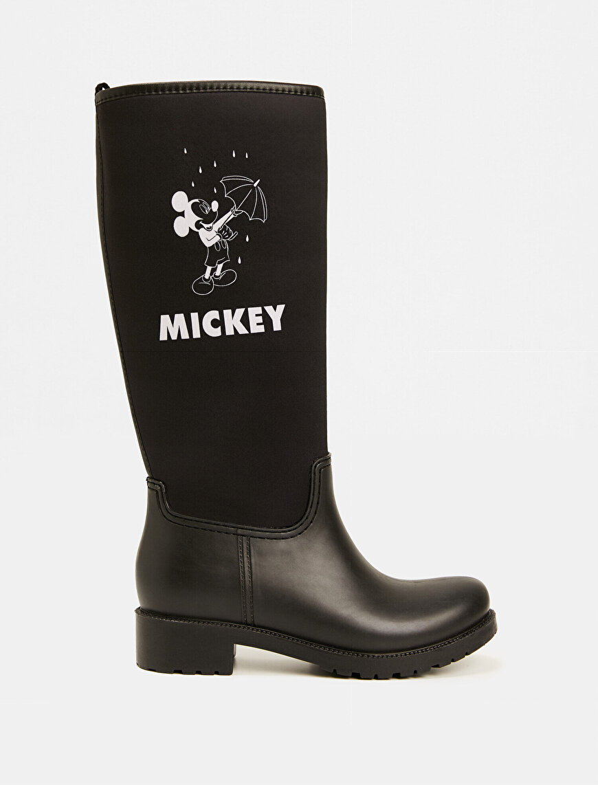 Mickey Mouse Licensed Printed Boots
