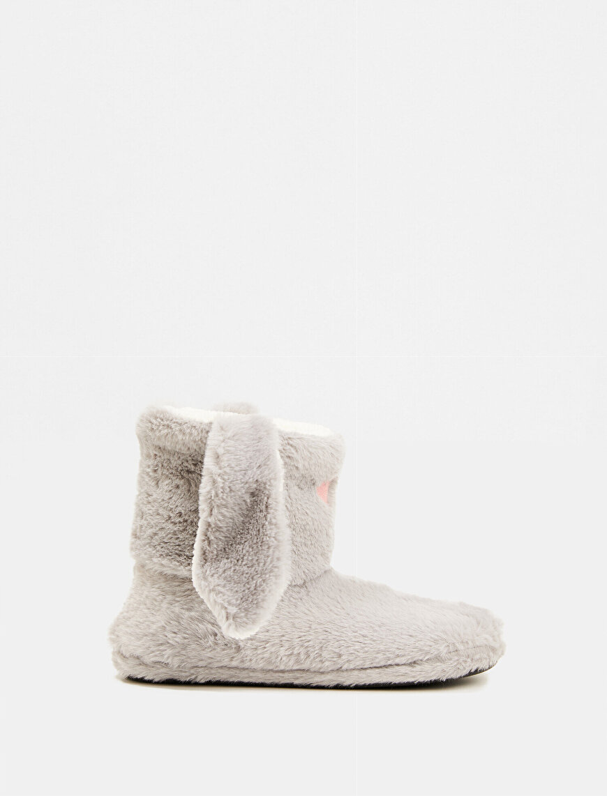 Plush Eared Home Boots