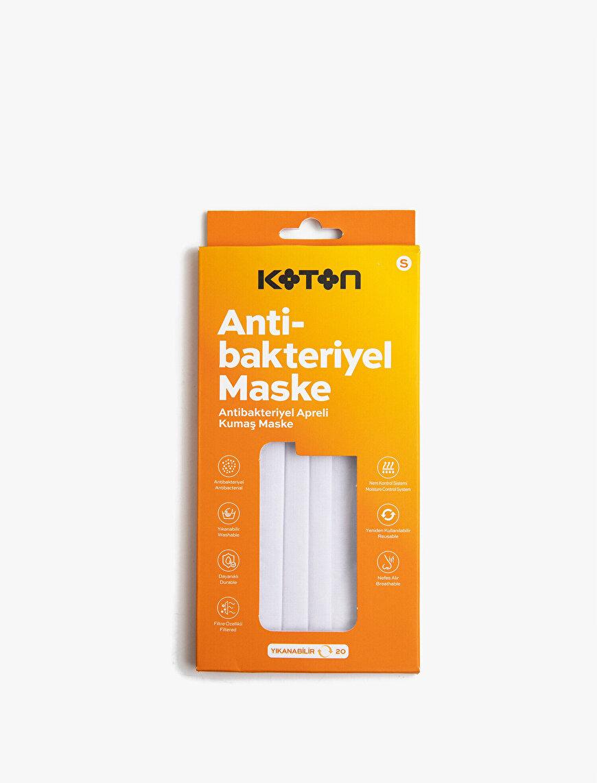 Filtre Özellikli Antibakteriyel Apreli Kumaş Yıkanabilir Maske