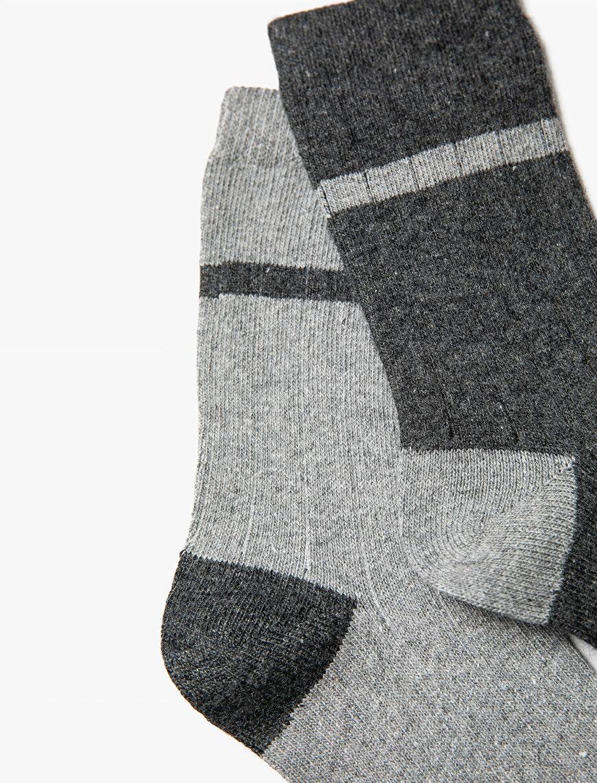 Erkek 2'li Çorap Seti
