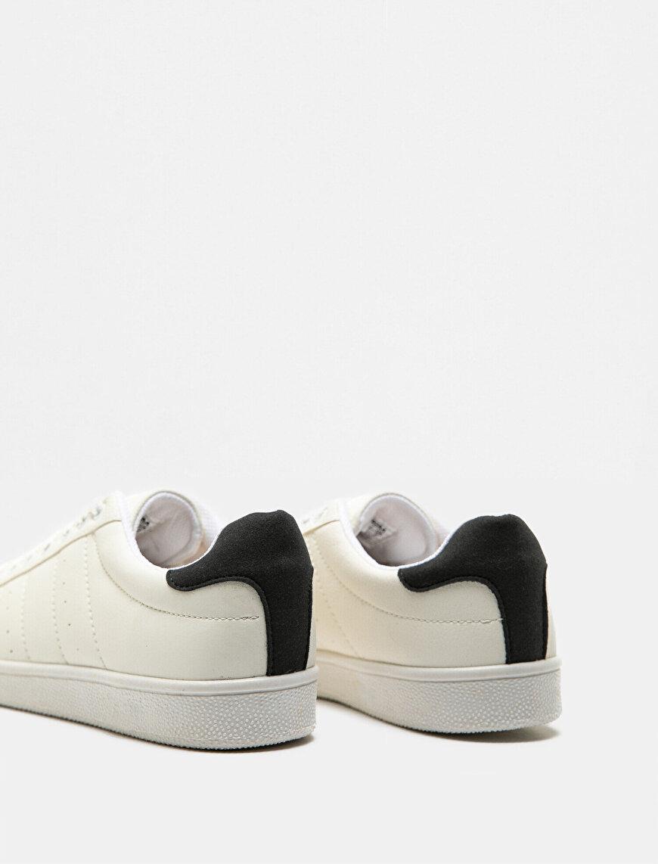 Deri Görünümlü Spor Ayakkabı