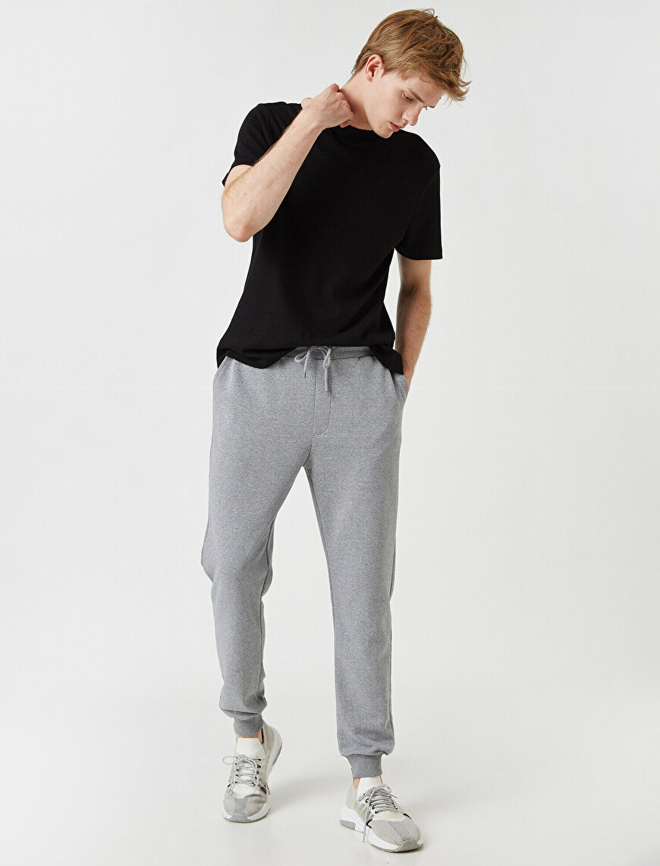 Pocket Detailed Drawstring Jogging Pants