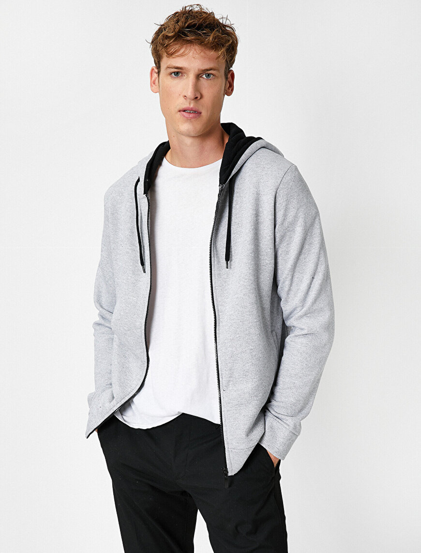 Respect Life | Yaşama Saygı - Long Sleeve Hooded Zip Sweatshirt