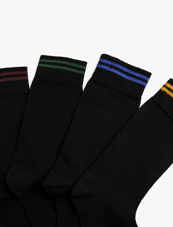 Erkek 4'lü Basic Çorap Seti