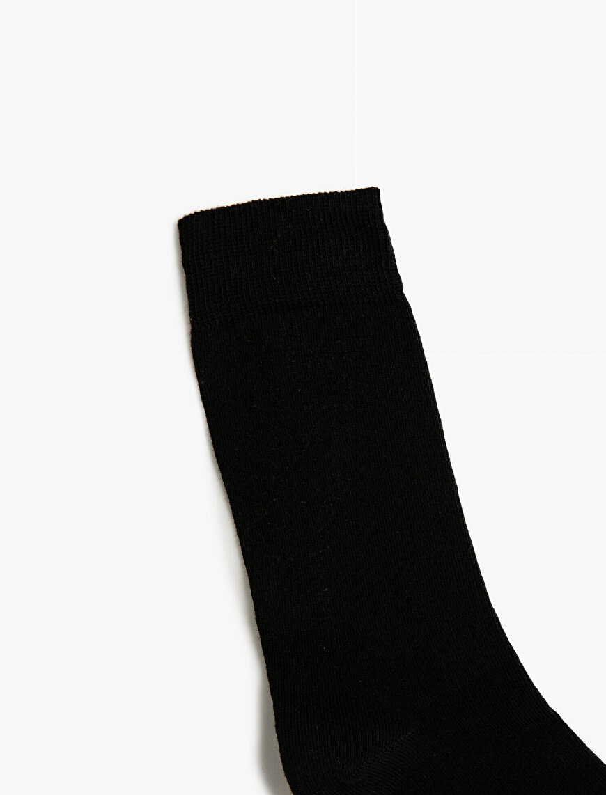 Man 5 Pieces Basic Socks Set