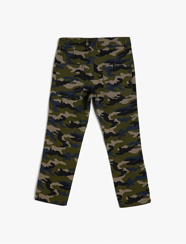 %100 Pamuk Kamuflaj Desenli Pantolon