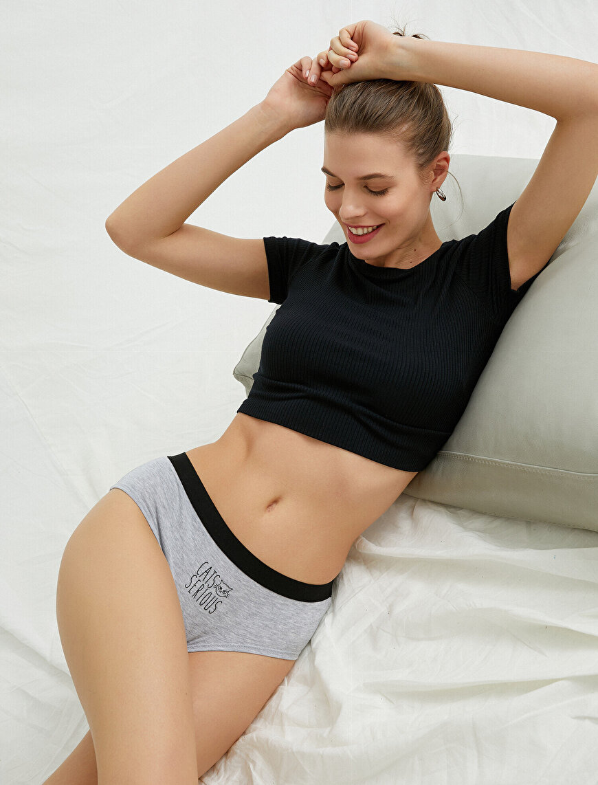 Hipster Panty Printed Cotton