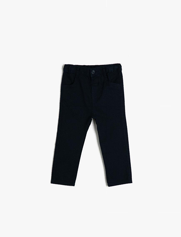 Pamuklu Basic Normal Bel Pantolon
