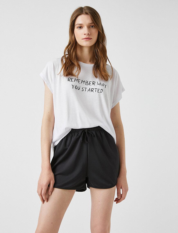 Sloganlı Tişört