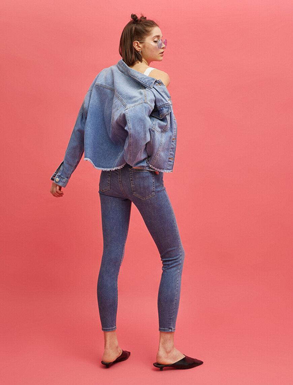 Cotton High Waist Carmen Jeans