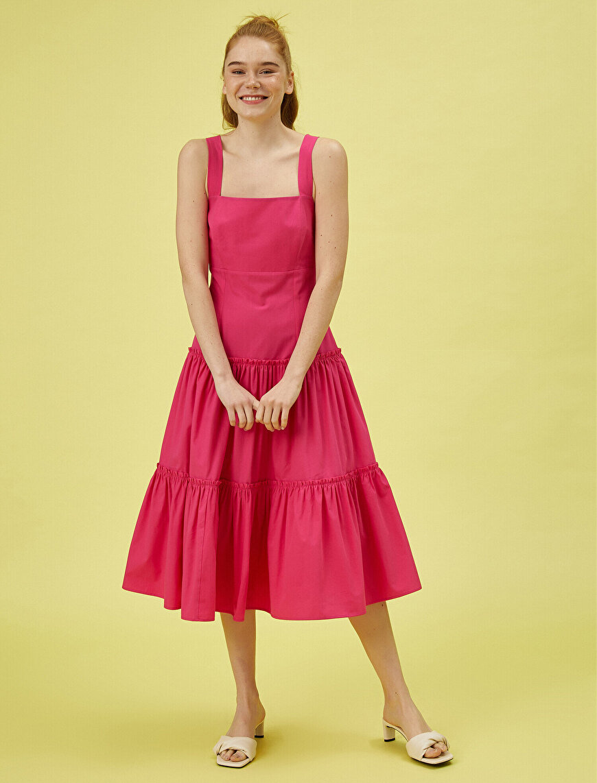 Askılı Elbise Pamuklu