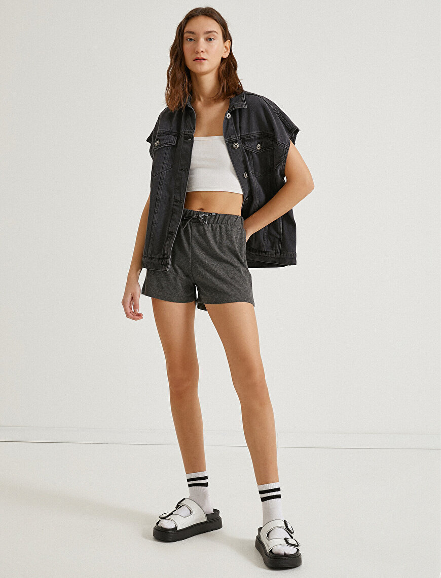 Drawstring Shorts Cotton
