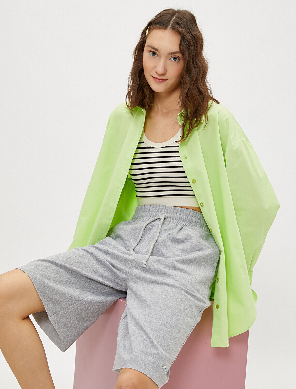 Drawstring Shorts Cotton